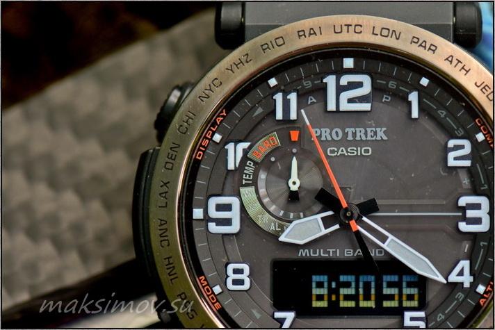 Обзор часов Casio PRW-6600YB-3E