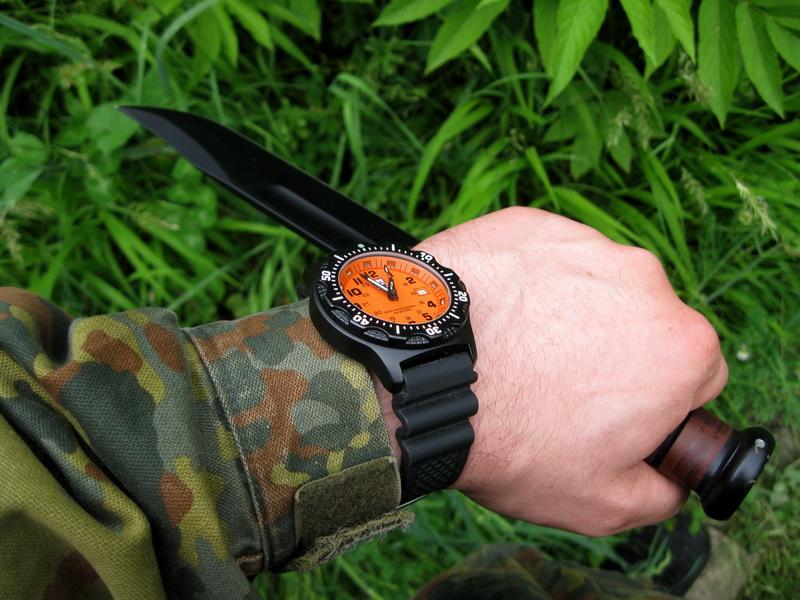 Luminox Ultimate Navy Seal Black OPS 8409