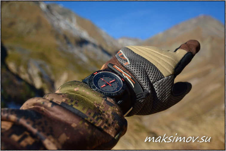 Часы Traser P 6600 Red Combat. Год эксплуатации