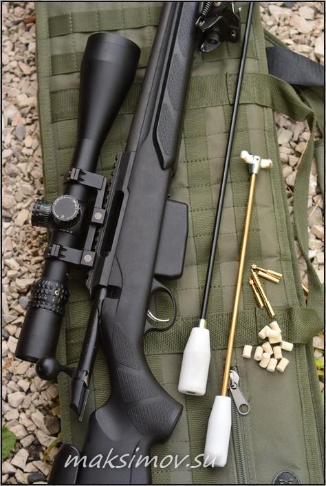 Как чистить винтовку?