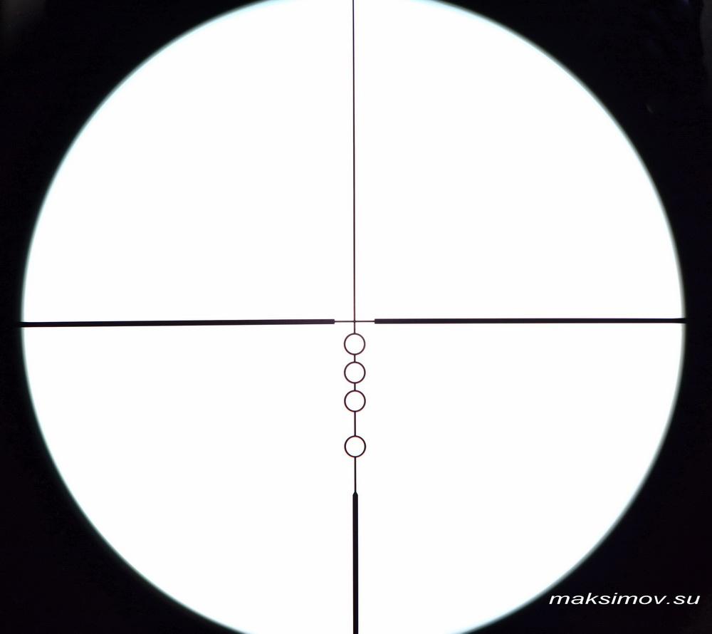 Оптический прицел Nikon MONARCH 3 5-20x44 SF
