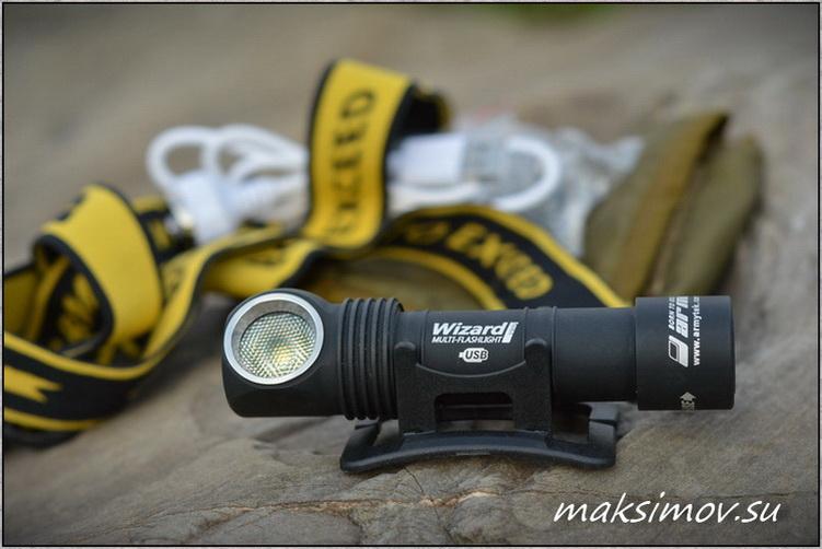 Налобный фонарь Armytek Wizard v3 Magnet USB