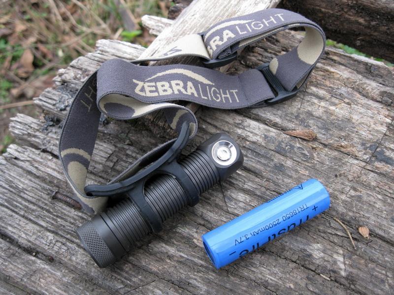 Налобный фонарь Zebralight H60