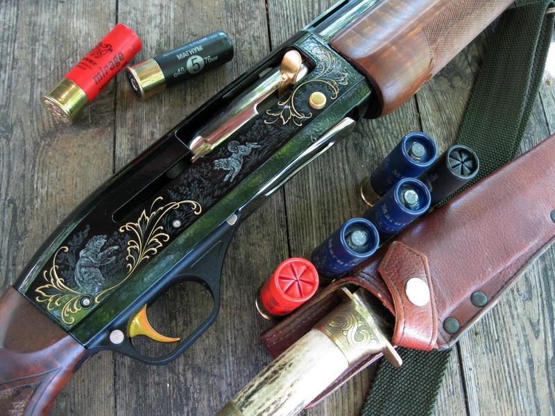 Самозарядное ружьё МР-153