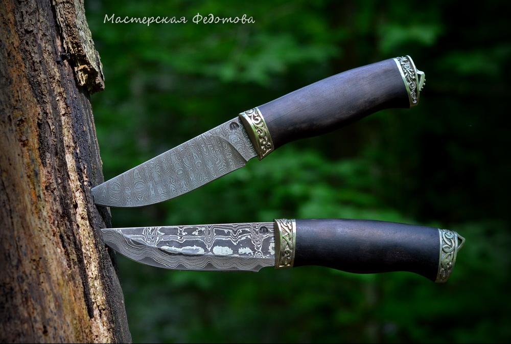 Таёжные ножи мастерской Федотова
