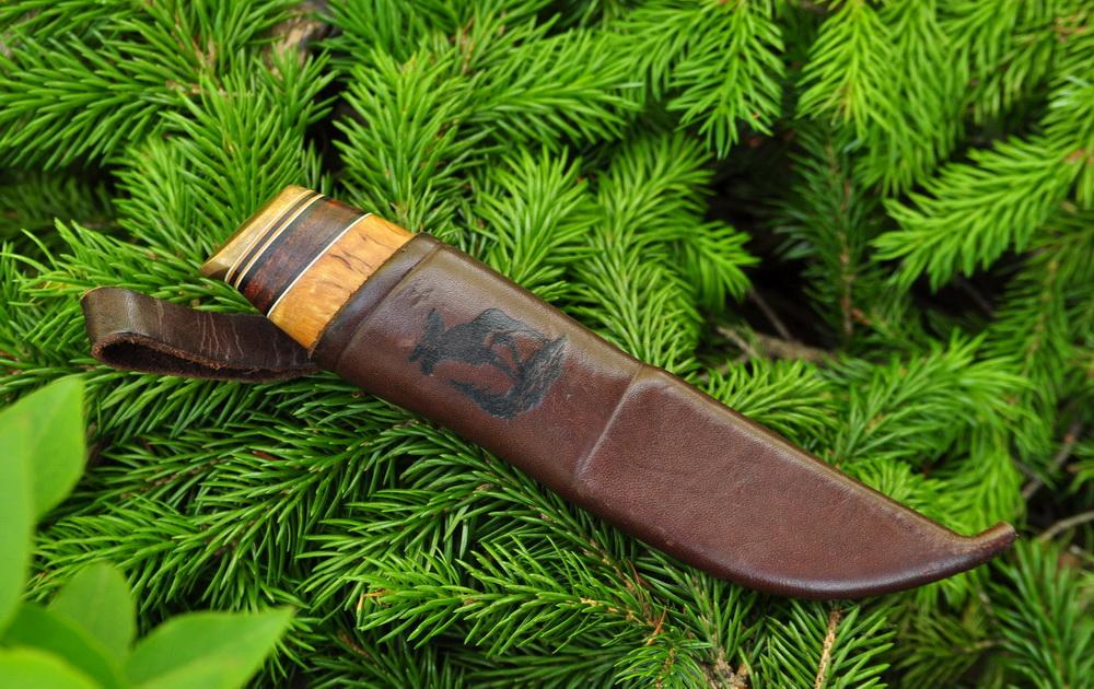 Нож финского типа Iisakki Puukkoi 1243