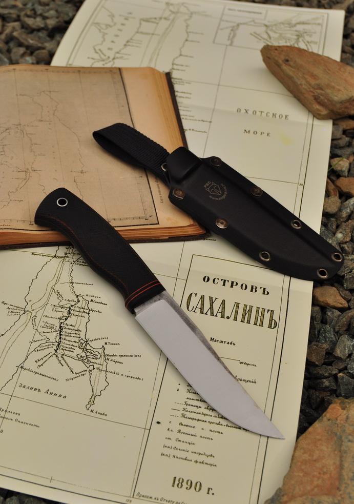 """Нож """"Крок-2"""" от РВС в экспедиции на Малые Курилы"""