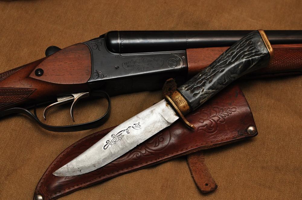 Советский охотничий нож