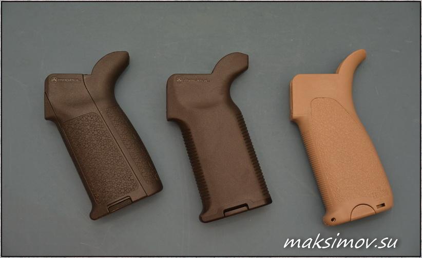 Пистолетные рукояти от Magpul и BCMдля карабинов AR15, M16 и M4