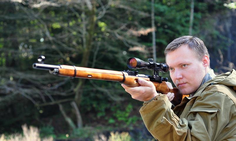 Модифицированный кронштейн Кочетова-Сулимова на винтовку Мосина