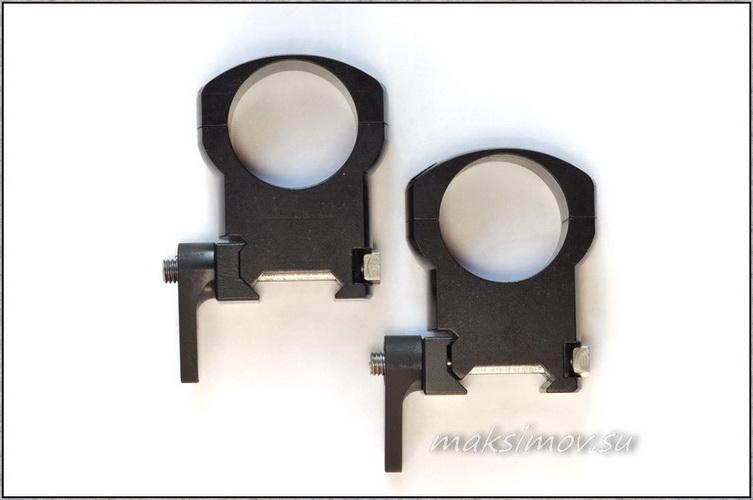 Легкосплавные 30-мм кольца на Weawer