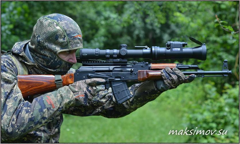 """Боковой кронштейн «SAG АК side mount» для АК (""""Сайги""""/""""Вепря"""")"""