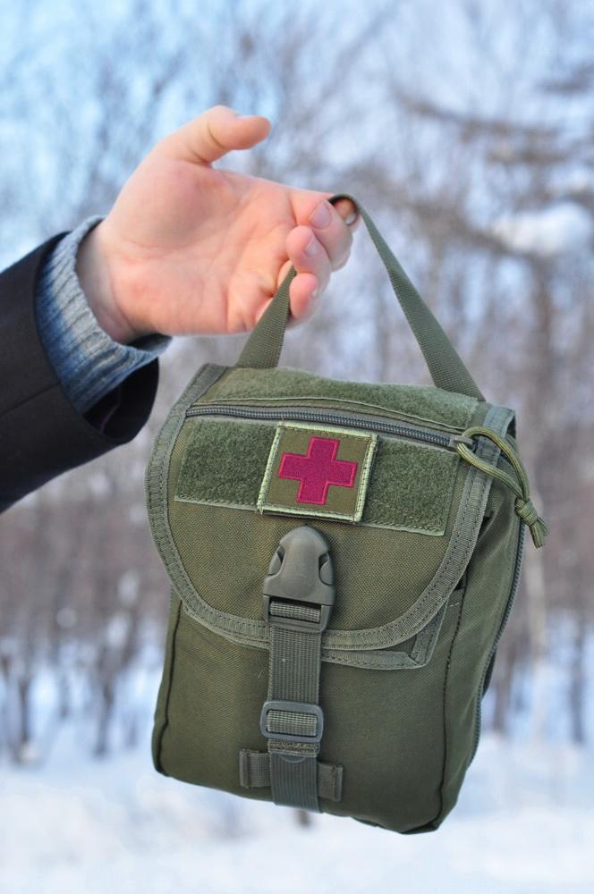 Рейдовый носимый индивидуальный набор первой помощи АИ-Н-4