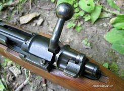 Коллекционная модель германского пистолета mauser c96 (m712)