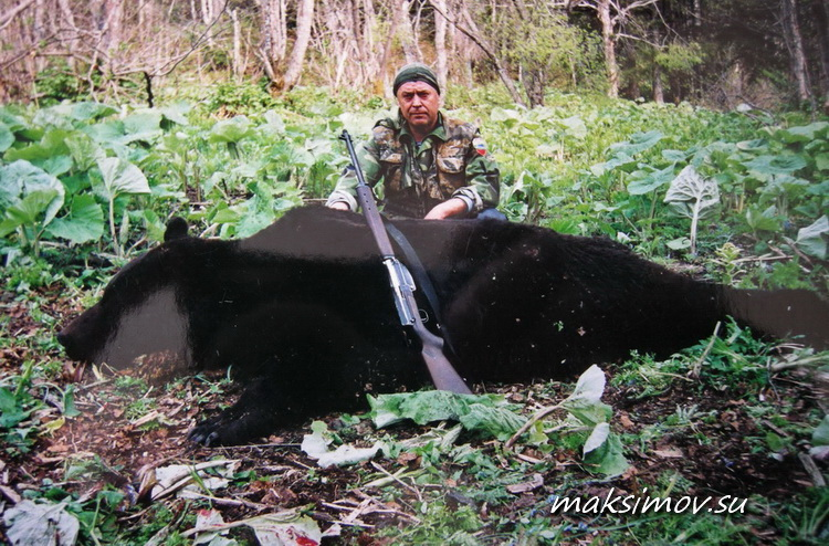 """Карабин """"Медведь-1"""". Первый в мире."""