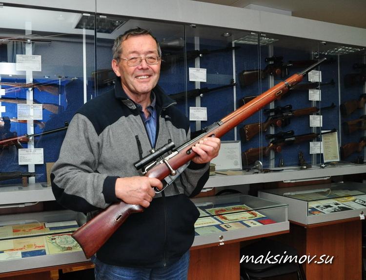 Снайперская 7,62-мм винтовка Е.Ф.Драгунова МС-74
