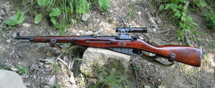 Снайперский карабин образца 1938 года