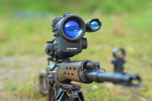 Насадка на оптический прицел для ночной стрельбы своими руками 76