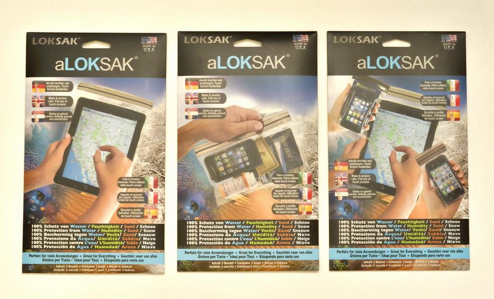Герметичные пакеты aLOKSAK