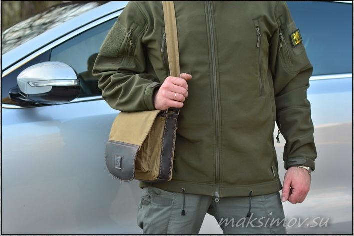 Сумка MARSEL с карманом для ношения оружия