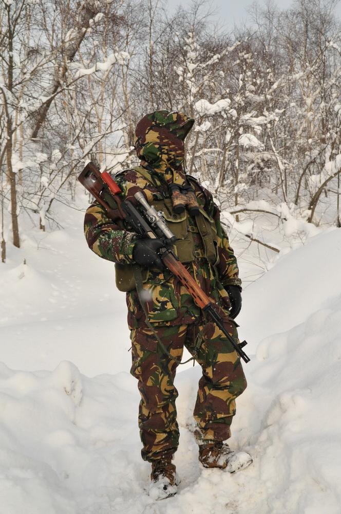 """Разгрузка"" для снайпера с СВД"