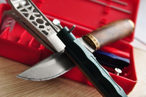 Станок для заточки охотничьих ножей своими руками