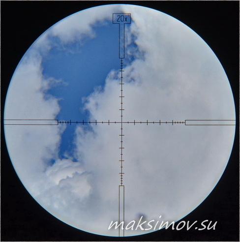 Тест оптического прицела