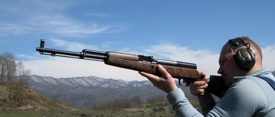 Охотничий приклад на СКС-45 от компании ИСБМ
