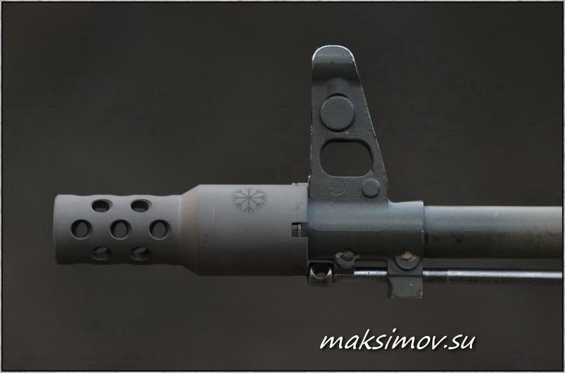 "ДТК из линейки «Веер» на АК (""Сайгу"") калибра 5,45х39 мм и «Сайгу-9»"