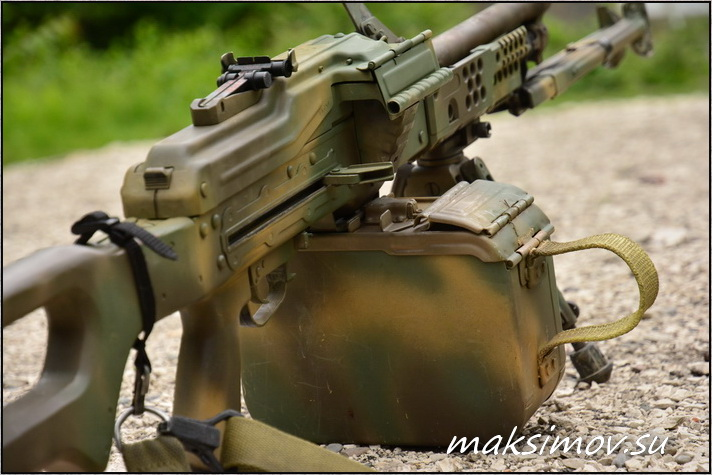 Уменьшенный короб на 100 патронов (модель КПУ100-ПКМ/Печенег)