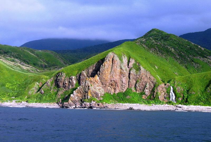 Остров Итуруп. Курилы